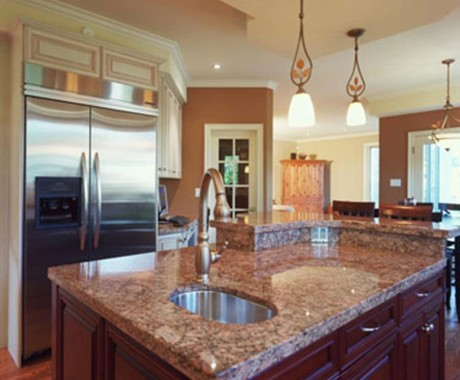 How are granite countertops made?